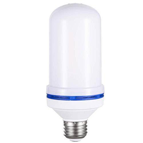 e Birne, 9W E27 E26 LED Flamme flackernde Effekt-Feuer-Glühlampen, simulierte dekorative Atmosphären-Lampen für Hotel/Stäbe/Inneneinrichtung(E27,Yellow) ()