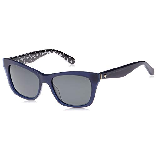 kate spade Damen JENAE/S Sonnenbrille, Blue Black Pattern, 53