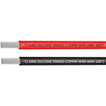Elektrischer Draht 12 AWG 12 Gauge Silikon Wire Hook Up Draht Kabel ...