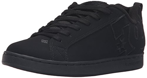 dc-young-womens-court-graffik-se-lowtop-shoes-uk-6-uk-black-black-black