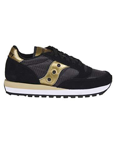 SAUCONY Zapatos Mujer Zapatillas Bajas S1044-521 Jazz Original Talla 39 Negro/Oro