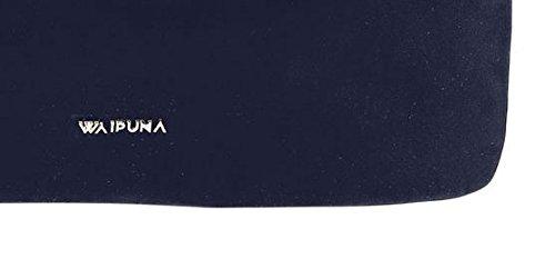 Waipuna, Borsa a spalla donna B 38 cm x H 29 cm x T 15 cm , 530 g. Blue / Blau