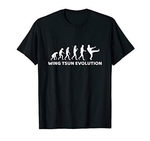 Wing Tsun T-Shirt Evolution Geschenk Wing Chun
