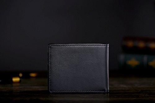 31j4WZiWioL - Cronus & Rhea® | Luxury Money Clip Exclusive Leather (Ladon) | Card Holder - Card Case - Purse - Wallet | Real leather | With elegant gift box | Men - Women