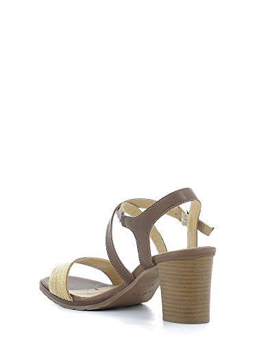IGI&CO 7842 Sandalo Tacco Donna Marrone