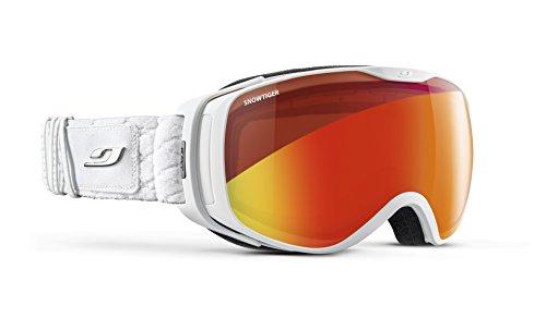 Julbo Luna–Gafas de esquí Mujer, Mujer, Color Blanc Chic Strass, tamaño M
