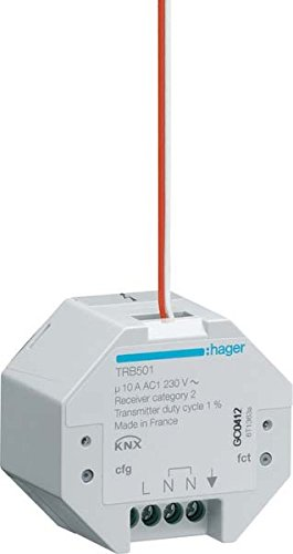 Hager Modul E/VIA Radio usbquicklink ON/OFF Einbau