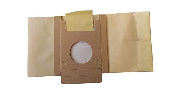 Sacchetto aspirapolvere Moulinex Powerpack confezione da 10 sacchetti di carta DJ1 BQ1 DJ5 BQ3 BQ2 Effimax