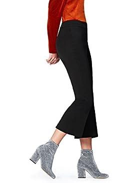 FIND Pantalones Cropped Rectos para Mujer