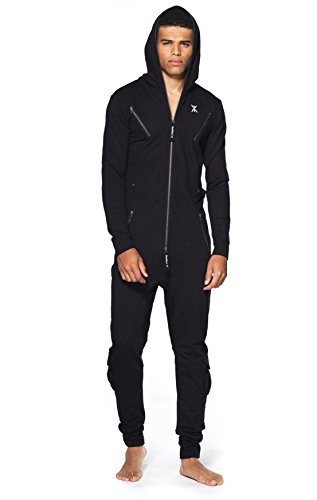 Onepiece Unisex Jumpsuit Air Schwarz (Black) - 3