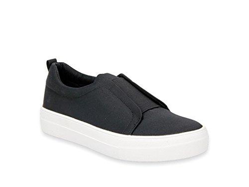 Steve Madden Frauen Goals Fashion Sneaker Schwarz Groesse 11 US/42 EU (Wedges Sneakers Steve Madden)