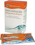 Integratore Alimentare Di Ferro E Vitamine Ferrotone 14 Bustine 20 Mg