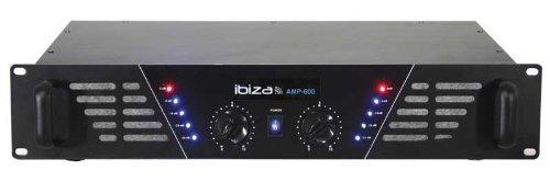 Ibiza AMP600 Vorverstärker, Schwarz