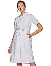 Van Heusen Woman Shirt Knee-Long Dress