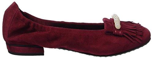 Kennel And Schmenger Shoe Manufactory Ladies Malu Chiuse Ballerine Rosse (rubino / Perla)