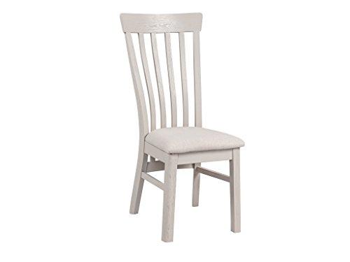 The One French Esszimmerstuhl, Eiche, lackiert-Rustikal lackiert Esszimmerstuhl, Eiche, (Set of 2)-Distressed French Painted Eiche Möbel-Esszimmer Möbel -