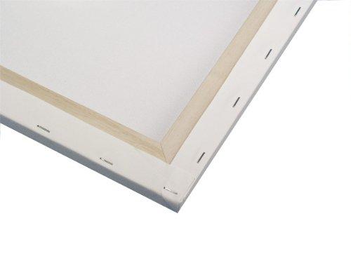 Rayher 6236100bastidor, 100% algodón, 330g/m², 40x 80x 1,7cm