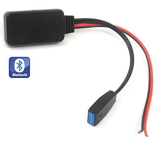 Shine Auto Bluetooth Adapter für BMW E46 3er-Serie, Wireless Car CD Stereo AUX Music Interface für BMW 320 325 323 328 330 M3 2002-2006 320 Stereo