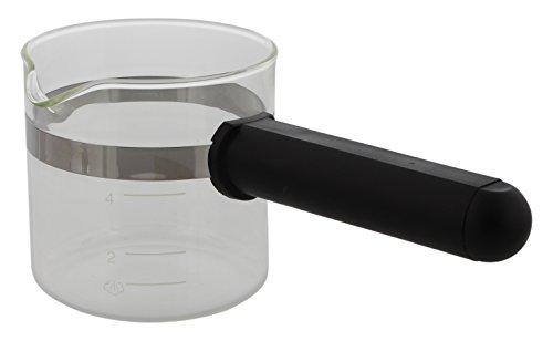 Codiac 340090Glaskanne Ersatz für Espressomaschine, Glas