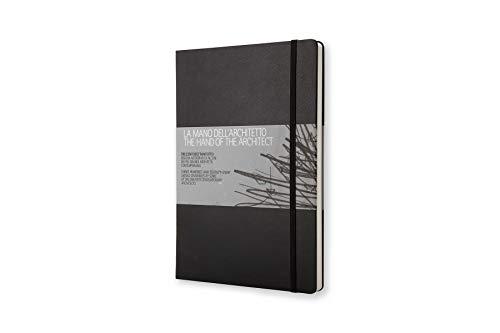 Libros Moleskine/La mano del arquitecto / A4 / Incluye Cuaderno de dibujo/Color negro
