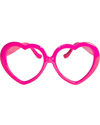 Herz Brille in rosa