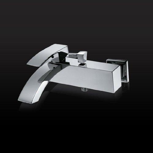 Lux-aqua Dusch-Badewannenarmatur Einhebelmischer CA23160C Mischbatterie Wandarmatur