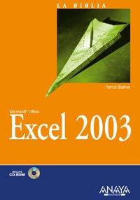 Excel 2003 (La Biblia De)
