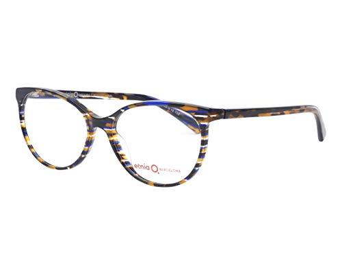 Etnia Barcelona Brille (BERGAMO HVBL) Acetate Kunststoff gestreift mix - marmor stil mix
