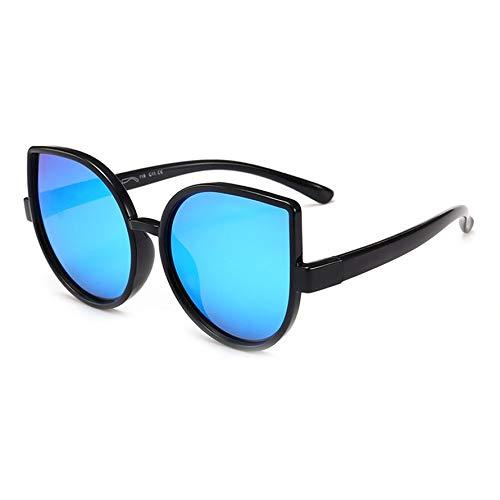 HoganeyVan Kinder bunte Karton Cat Eye Form Frame Design polarisierte Sonnenbrille Silica Gel Schutzbrille Brille