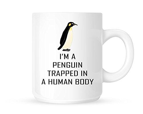 31j5PVFCZKL Tasse mit Pinguin Motiv