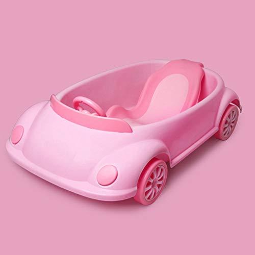 Vasca per Bambini, può Sedersi E Sdraiarsi nel Bagno Universale, Bagnetto, Vasca per Bambini (Color : Pink)