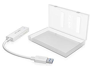 """Icy Box IB-AC603a-U3 Adaptateur et boîtier pour disque dur SATA 2,5"""" USB 3.0 (B008S8PP6K)   Amazon price tracker / tracking, Amazon price history charts, Amazon price watches, Amazon price drop alerts"""
