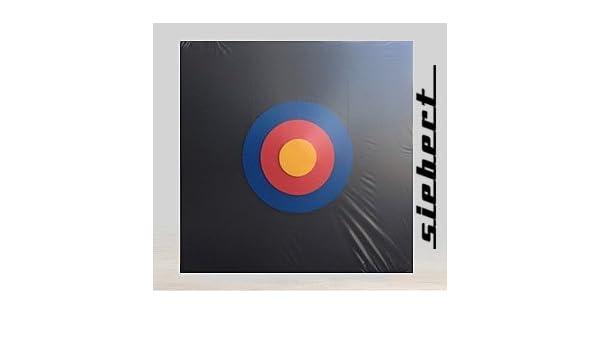 Bogensport Zielscheibe  80 x 80 x 10 cm bis 50 LBS Lange Lebensdauer Pfeilfang