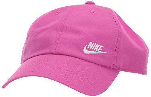 Active Cap (Nike Damen Women's H86 Cap Futura Classic Hut, Active Fuchsia/White, Einheitsgröße)