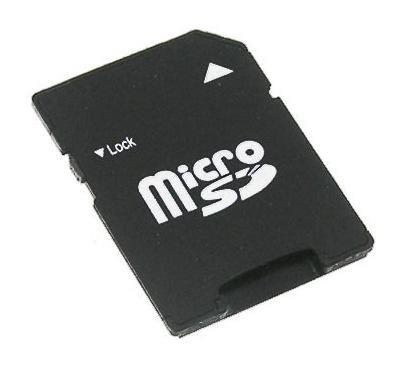 NEON microSD/microSDHC al adaptador de SD/SDHC
