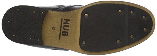 Hub Lomu L80, Derby homme Schwarz (Black 016)