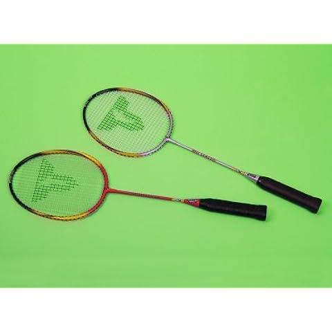 NEW Talbot Torro Bisi Classic Racchetta da Badminton Racchetta Junior, livello principiante, Multi-coloured, 27