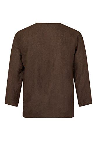 ThaiUK Herren Freizeit-Hemd mehrfarbig mehrfarbig Braun