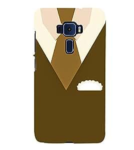 Winter Wear Design 3D Hard Polycarbonate Designer Back Case Cover for Asus Zenfone 3 Deluxe ZS570KL
