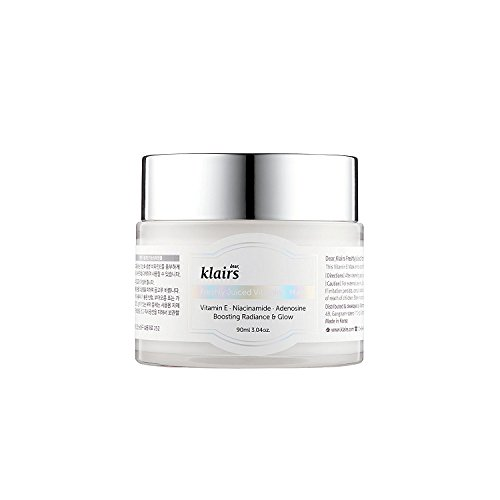 [KLAIRS] Freshly Juiced Vitamin E Mask 90ml, Brightening Moisturizer, Brightening Effect With Viatmin C, Niacinamide, Adenosine