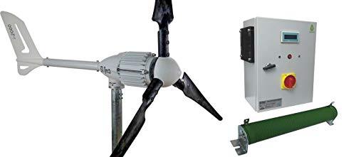 Windgenerator 2 kW, Wind Turbine 48V, Inselanlage von IstaBreeze® zur Auswahl (Windgenerator 2kW / 48V + I/HCC2000-48V)