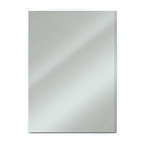 Craft perfekt Satin Spiegel Karte A4, Silber satiniert