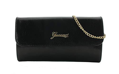 19e6d8c8128a2 Gussaci Damen Clutch Abendtasche Umhängetasche Schwarz gebraucht kaufen  Wird an jeden Ort in Deutschland