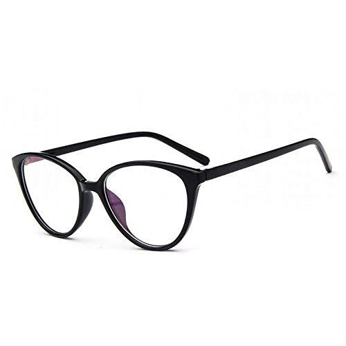 YMTP Vintage Cat Eye Brillengestell Frauen Beschichtung Brillengestell Weibliche Myopie Transparente Optische Brillen