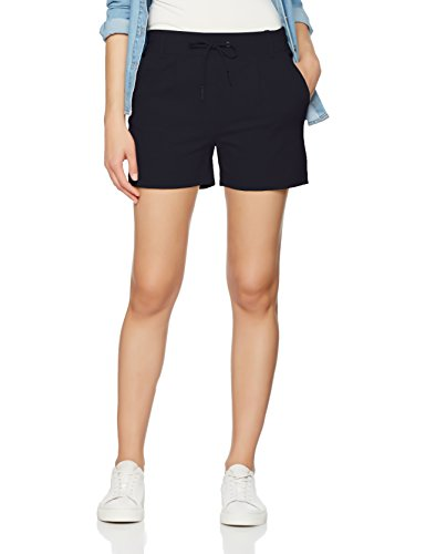 ONLY NOS Damen Onlpoptrash Easy Shorts Noos, Blau (Night Sky), 36 (Herstellergröße: S)