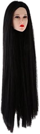 MagiDeal 1/6 Femmes Figurine Tête Tête Tête Sculpture Yeux Amovible & Cheveux Longs pour 12 Pouces Action Figure Corps | Achats En Ligne  e8ce81