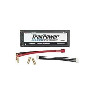 Trakpower LiPo 2S 7.4V 7200mAh 90C Hard Case Battery, 5mm