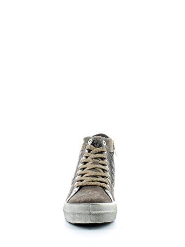 IGI&CO donna sneakers alte con zeppa interna 48033/00 Fango