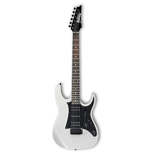 Miiliedy GFEU2U E-Gitarren-Set Anfänger üben Professionelles Spielen E-Gitarre geeignet für Rock Roll Blues Heavy Metal Musikstile ( Color : White )