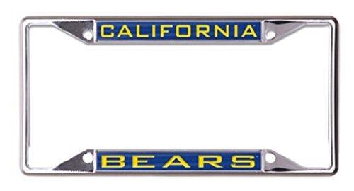 Wincraft Snack-Schale NCAA Universität California Berkeley Cal Bears 6x 12eingelegten Acryl/Metall Nummernschild Rahmen